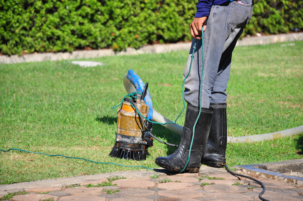 Addressing April Showers with a Sump Pump